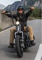 Harley-Davidson Bündnerbike - guida moto