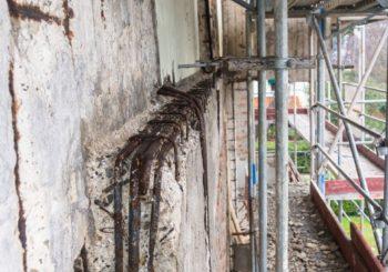 Carbonatazione del calcestruzzo: malte e rasanti per il risanamento terrazze e balconi dalla corrosione delle armature