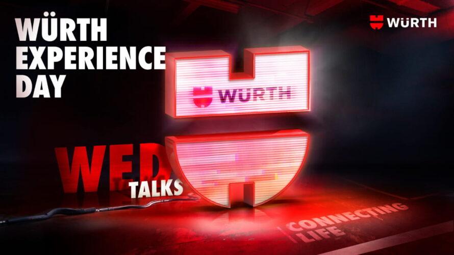 Würth Experience Day: un'esperienza digitale inedita e ricca di contenuti per esplorare il mondo Würth, i suoi prodotti, servizi e valori!