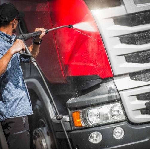 pulizia camion-parti esterne