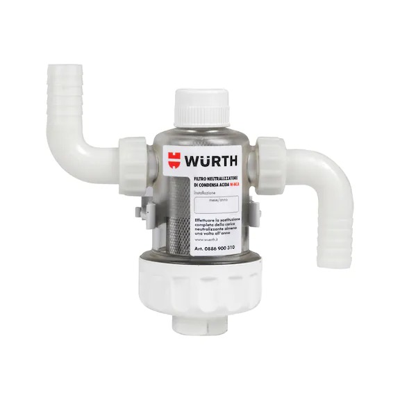 Filtro neutralizzatore di condensa acida W-NCA 0886900310